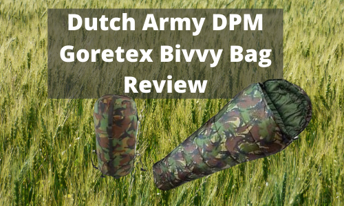 Dutch Army DPM Goretex Bivvy Bag Review