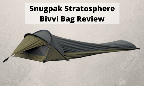 Snugpak Stratosphere Bivvi Bag Review