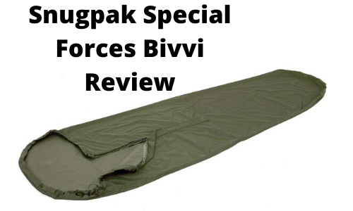 Snugpak Special Forces Bivvi Review