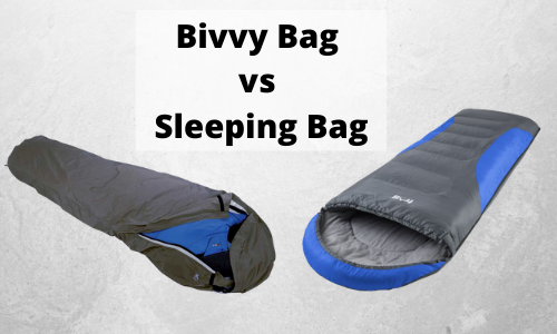Bivvy Bag vs Sleeping Bag